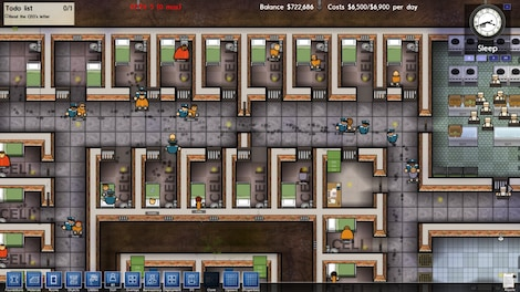 Prison Architect Standard Steam Key GLOBAL - gameplay - 8