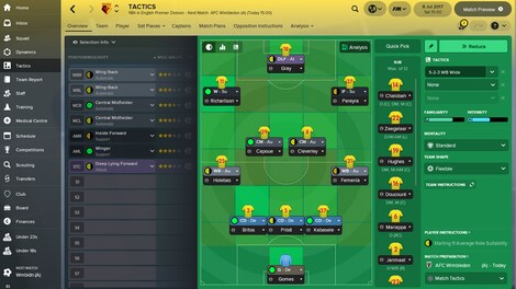 Football Manager 2018 Steam Key GLOBAL - gameplay - 5
