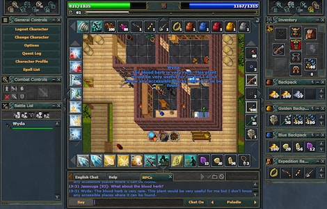 Tibia PACC Premium Time Cipsoft GLOBAL 30 Days Code - screenshot - 14