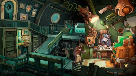Deponia Trilogy Steam Key GLOBAL - gameplay - 47