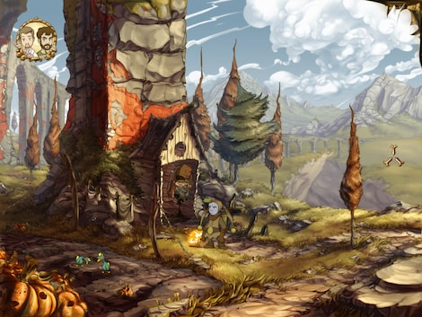 The Whispered World Special Edition Steam Key GLOBAL - gameplay - 4