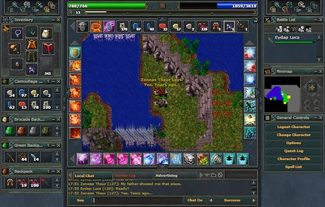 Tibia PACC Premium Time Cipsoft GLOBAL 30 Days Code - screenshot - 13