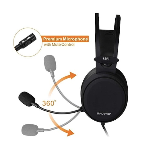NUBWO Gaming headsets - Wired PC / XBOX/ PS4 Gaming Headphones with Noise Canceling Mic - product photo 5