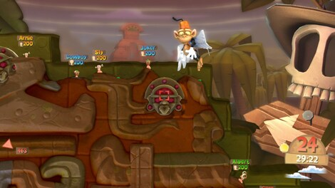 Worms Clan Wars Steam Key GLOBAL - gameplay - 3