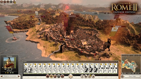 Total War: ROME II - Emperor Edition + 4 DLCs Steam Key GLOBAL - rozgrywka - 17