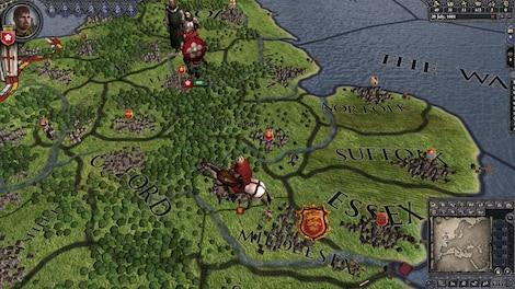 Crusader Kings II Steam Key GLOBAL - gameplay - 9