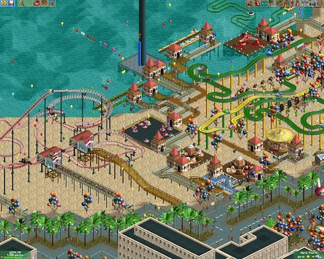 RollerCoaster Tycoon 2: Triple Thrill Pack Steam Key GLOBAL - gameplay - 4