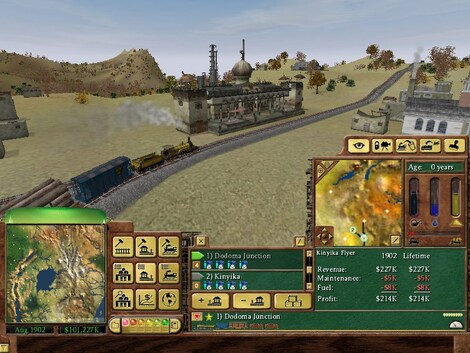 Railroad Tycoon 3 Steam Key GLOBAL - gameplay - 7