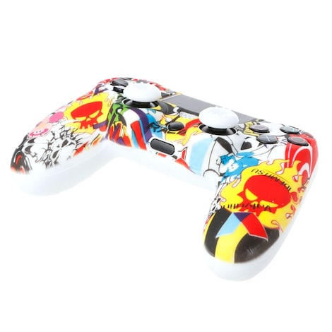 OCDAY Anti-Slip Multicolor Silicone Cover Skin Case + 2 Thumbsticks Grips  Remote Control - product photo 1