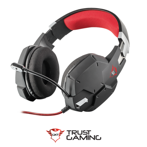 Trust Gaming GXT 322 Carus Black