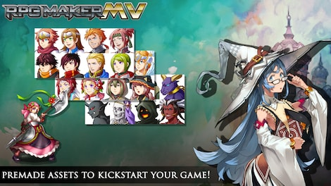 RPG Maker MV GLOBAL Key Steam - Screenshot - 4