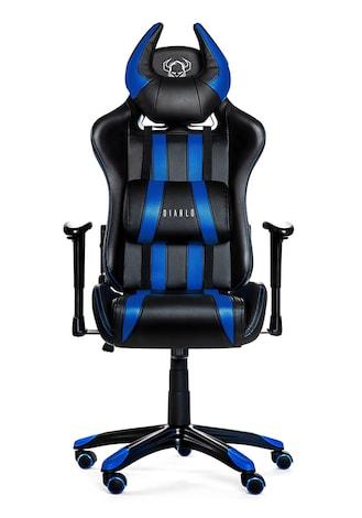 DIABLO X-ONE HORN Gaming Chair Black & blue