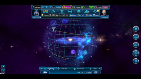 Astro Lords: Oort Cloud - MOBA: Two Stations 25 Key GLOBAL - screenshot - 13