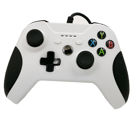 [REYTID] Xbox One WIRED Controller with 3.5mm jack - White - Game Pad Gaming Control Bluetooth XB1 S