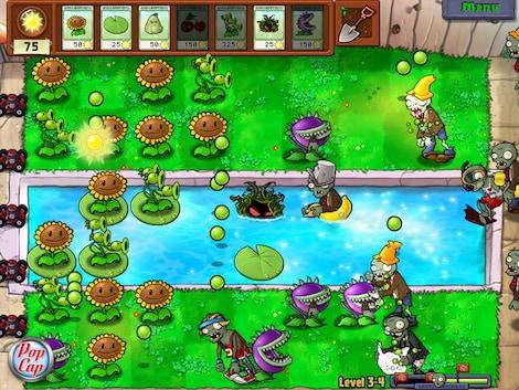 Plants vs. Zombies GOTY Edition Steam Key GLOBAL - gameplay - 9