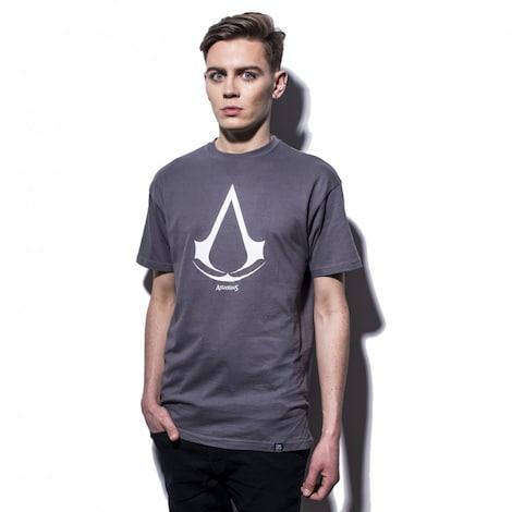 ASSASSIN'S CREED: Assassin's Crest Men's T-shirt XS Gray