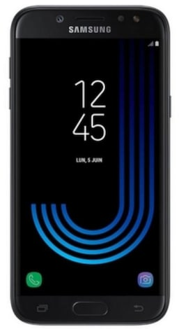 Samsung Galaxy J5 2017 Black Android Internal & Removable 16GB Smartphone
