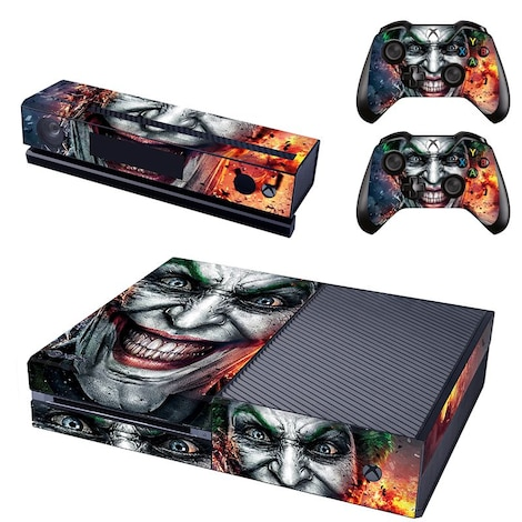 [REYTID] Xbox One Console Skin / Sticker + 2 x Controller Decals & Kinect Wrap - The Joker XBOX ONE Multi-colour