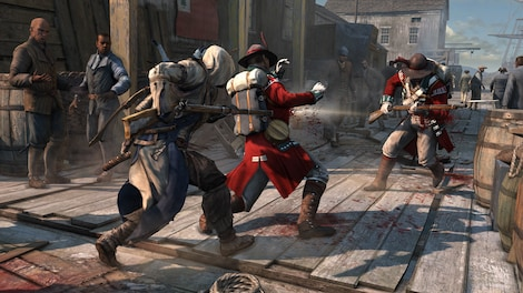 Assassin's Creed III Steam Key GLOBAL - gameplay - 4
