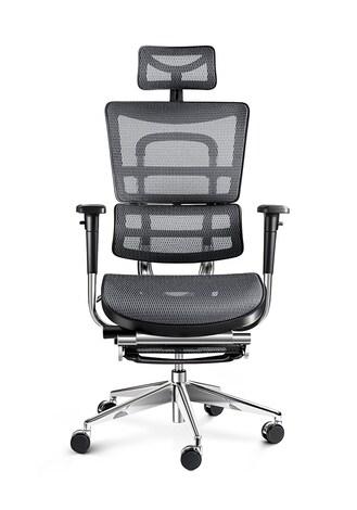 DIABLO V-MASTER Gaming Chair Gray & white