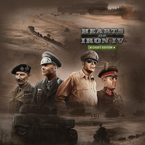 Hearts of Iron IV: Cadet Edition Steam Key GLOBAL - gameplay - 2