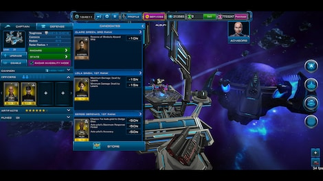 Astro Lords: Oort Cloud - MOBA: Two Stations 25 Key GLOBAL - screenshot - 4