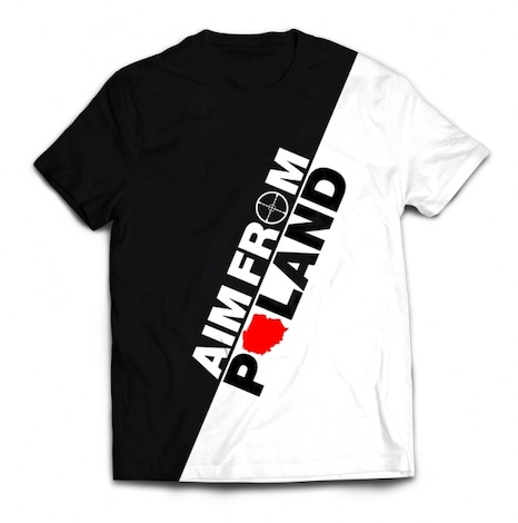 AIM FROM POLAND - Oblique T-shirt XL Multi-colour