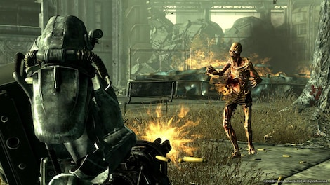 Fallout 3 - Game of the Year Edition Steam Key GLOBAL - gameplay - 8