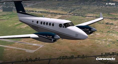 X-Plane 10 AddOn - Carenado - B200 King Air Key Steam RU/CIS