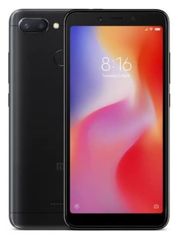 Xiaomi Redmi 6 32GB Black Android Smartphone