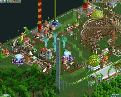 RollerCoaster Tycoon 2: Triple Thrill Pack Steam Key GLOBAL - gameplay - 9