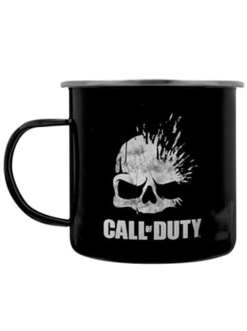Call of Duty Black Metal Mug