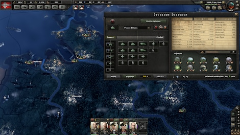 Hearts of Iron IV: Cadet Edition Steam Key GLOBAL - gameplay - 5
