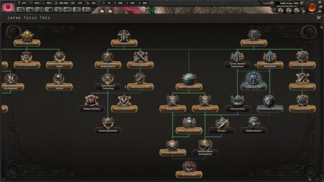 Hearts of Iron IV: Waking the Tiger Steam Key GLOBAL - screenshot - 6