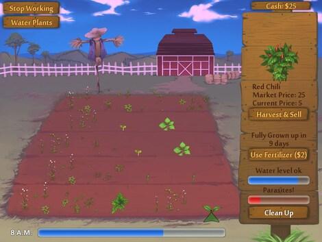 Flower Shop: Summer In Fairbrook Steam Key GLOBAL - gameplay - 11