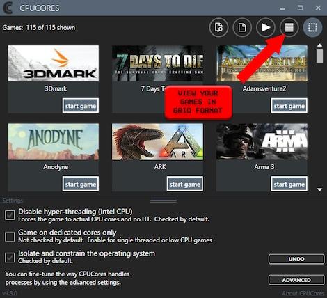 CPUCores :: Maximize Your FPS GLOBAL Key Steam - zrzut ekranu - 7