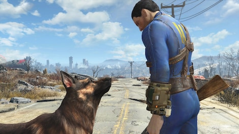 Fallout 4: Game of the Year Edition Steam Key PC GLOBAL - gameplay - 4