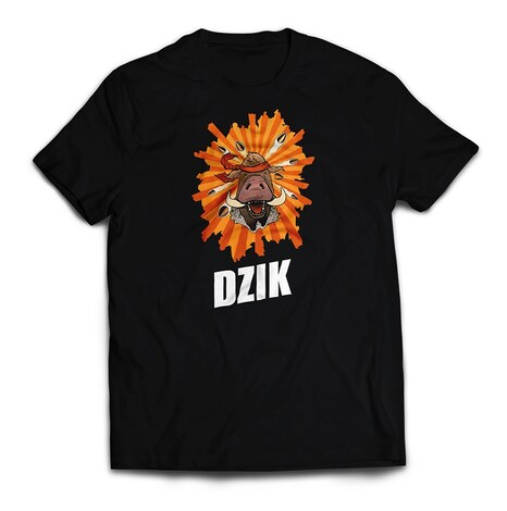 Dzik - T-shirt M Black