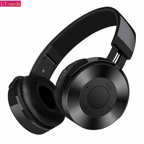 Lvcards 02 Hifi Stereo Bluetooth Headset Support 32 64gb Tf Headphones With Microphone For Pc Phones Black G2a Com