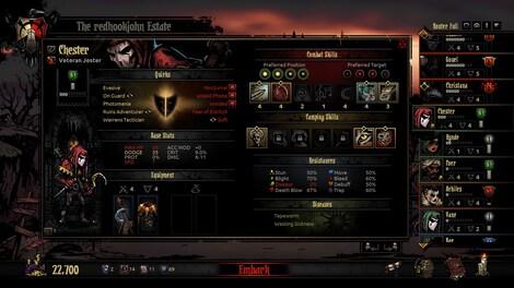 Darkest Dungeon Steam Key GLOBAL - gameplay - 8