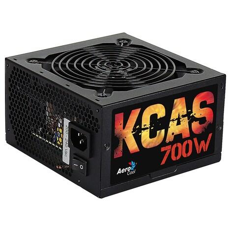 Aerocool KCAS-700W - Fuente de alimentación (700W, 115 - 230V, 47 - 63 Hz, 12 cm,)