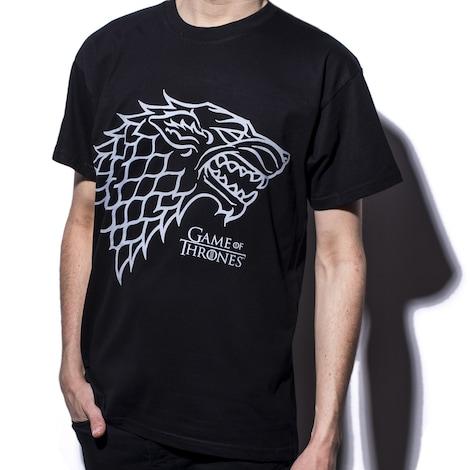 GAME OF THRONES: Stark Crest Men's T-shirt S Black - product photo 1