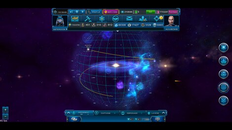 Astro Lords: Oort Cloud - MOBA: Two Stations 50 Key GLOBAL - screenshot - 4