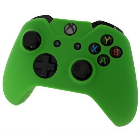 [REYTID] Xbox ONE Controller Skin Silicone Protective Rubber Cover Gel Grip Case - Green XBOX ONE Green