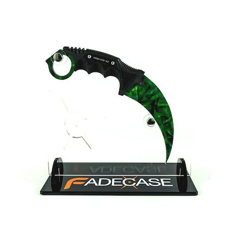 Emerald - Karambit Elite - Fadecase Karambit Sharp