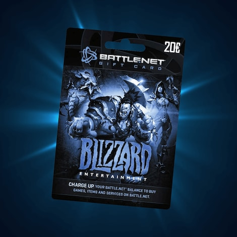 Blizzard GiftCard EUROPE 20 EUR Blizzard - screenshot - 2