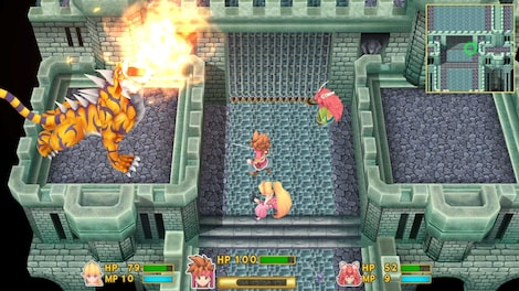 Secret of Mana Steam Key GLOBAL - gameplay - 2
