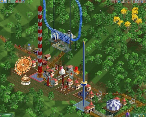 RollerCoaster Tycoon 2: Triple Thrill Pack Steam Key GLOBAL - gameplay - 13