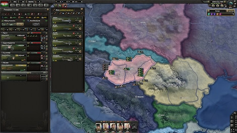 Hearts of Iron IV: Death or Dishonor Key Steam GLOBAL - screenshot - 4