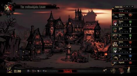 Darkest Dungeon Steam Key GLOBAL - gameplay - 4